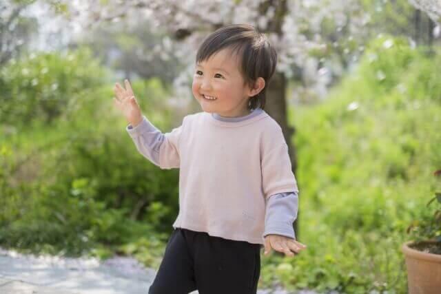 子供が踊っている写真